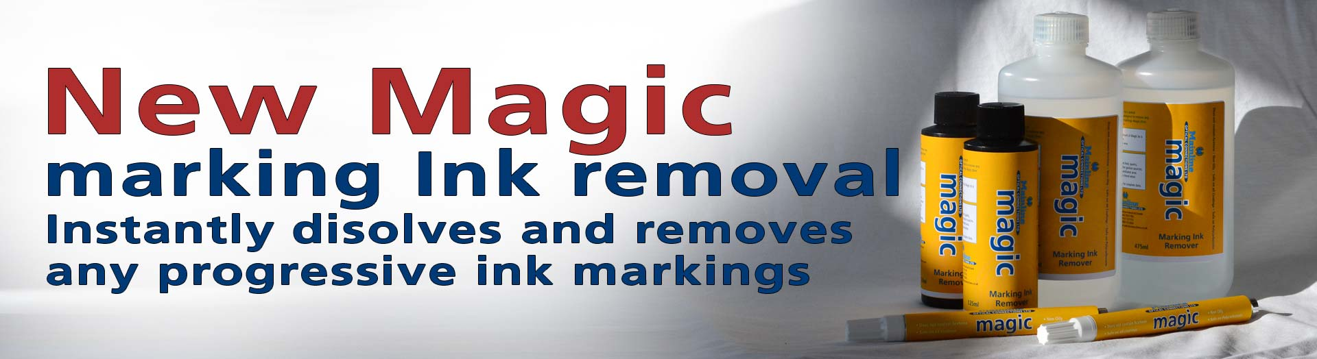 Magic Marking Ink Remover